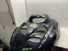 Kuomu (Arctic Cat Mountain 800 Black) 0718-907