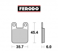 FERODO FRP405 BRAKE PADS ECO-FRICTION